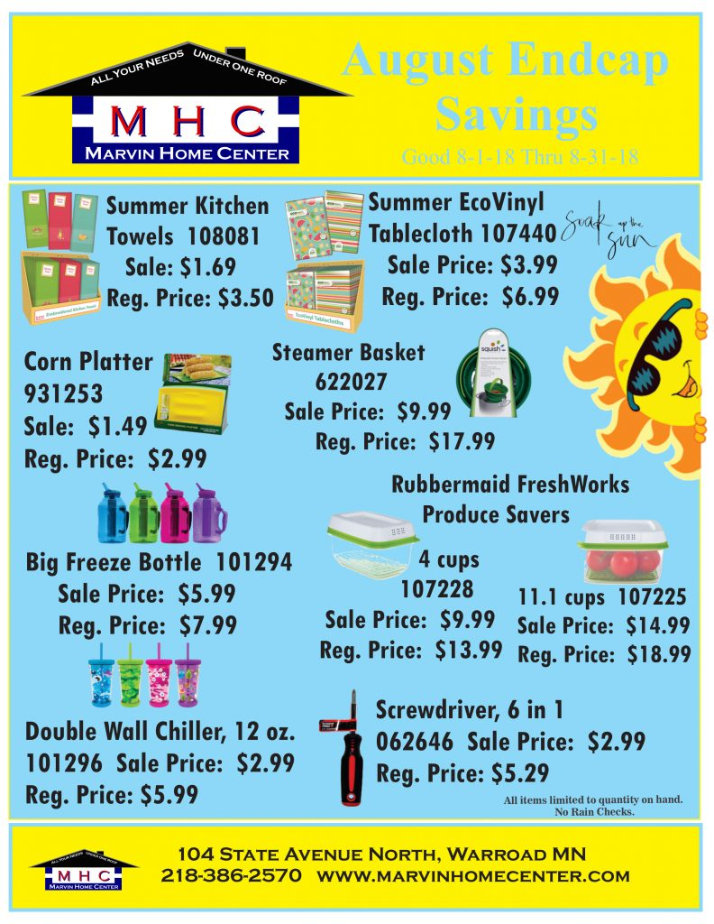 Specials - Marvin Home Center