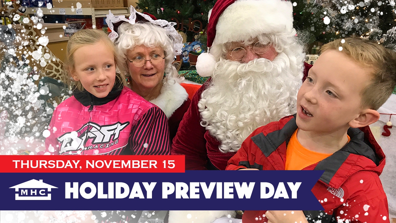 Holiday Preview Day