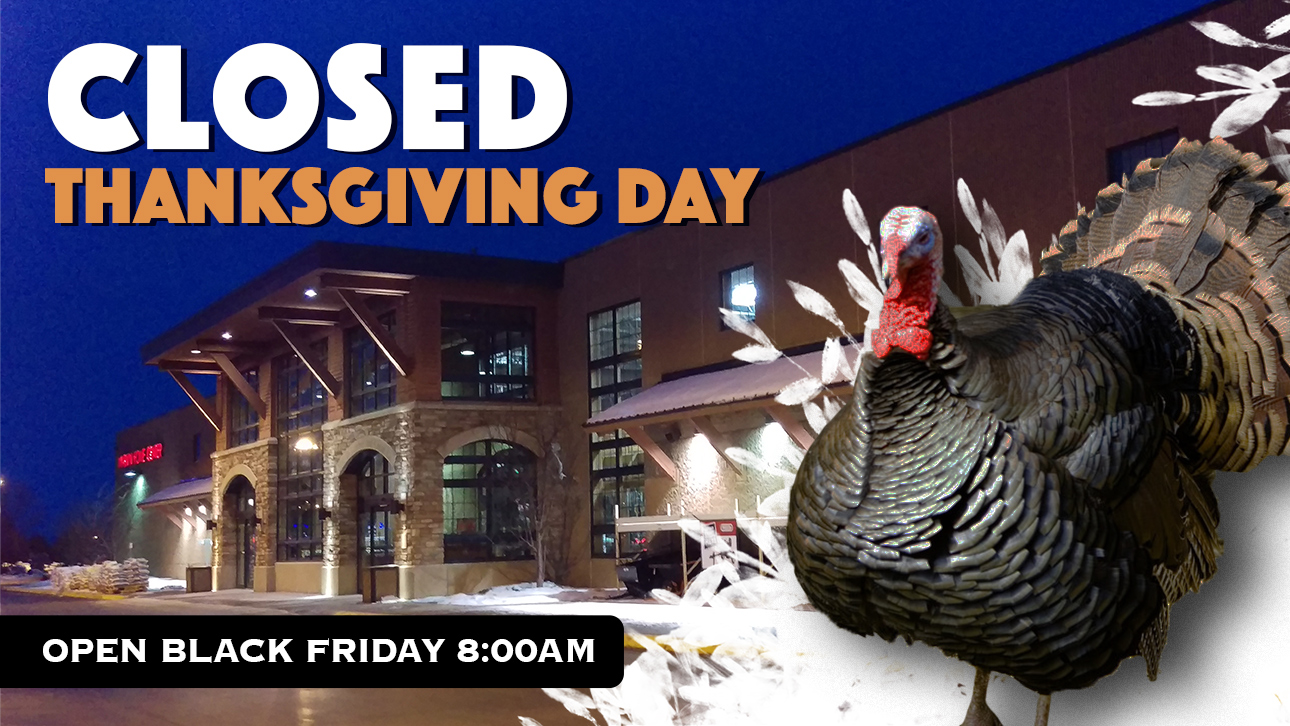 Closed Thanksgiving