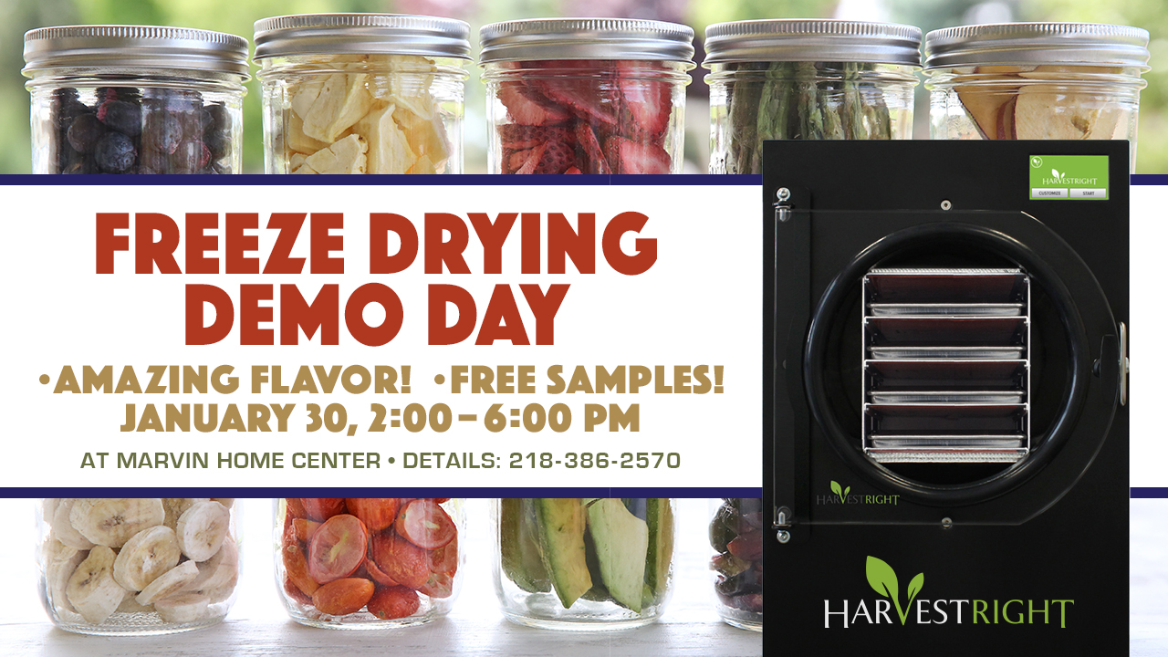 Freeze Drying Demo Day