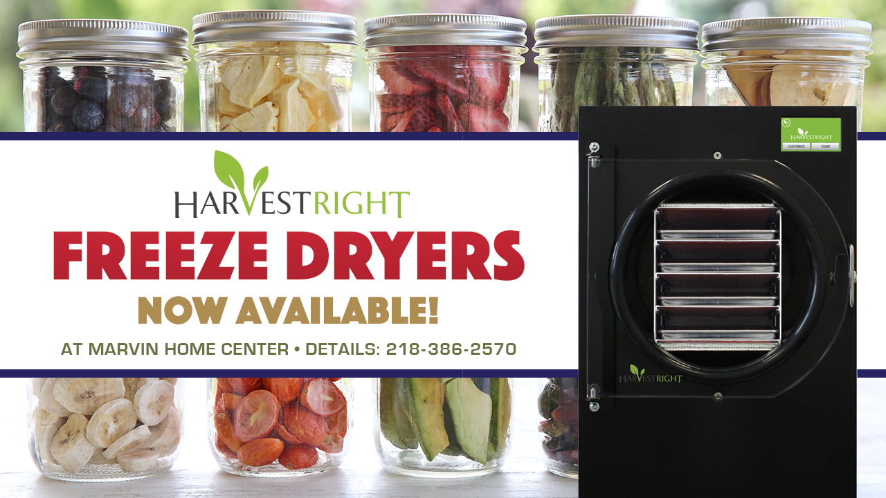 Harvest Right Freeze Dryers Now Available