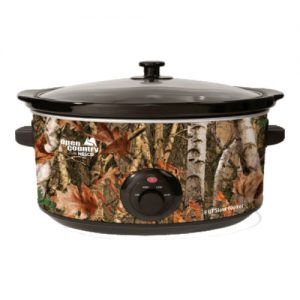 Woodland Birch Oval Slow Cooker