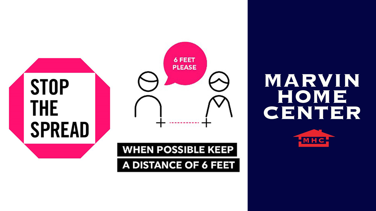 Stop the Spread: When Possible Keep A Distance of 6 Feet