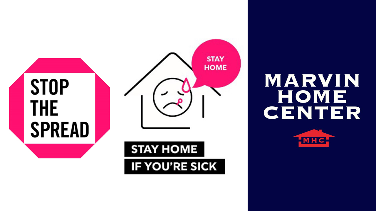 Stop The Spread - Stay Home if You're Sick