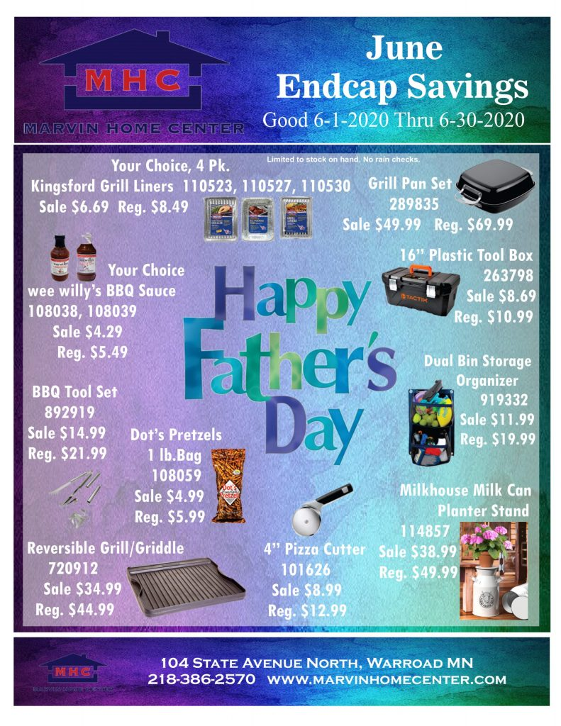 June Endcap Savings